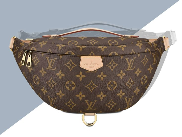 When we did a deep dive into the origins of Kendall Jenner's maybe-vintage, maybe-fake, maybe-fake-vintage Louis Vuitton Fanny Pack last year, one thing surprised me far more than the fact that a rich 20-something would carry a crappy fake: that Louis Vuitton didn't already make a similarly retro monogram fanny pack. After all, both belt …