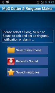MP3 Cutter and Ringtone Maker♫- ภาพหน้าจอขนาดย่อ