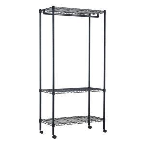 Portable And Expandable Garment Rack In Black Chrome 18 Months Impressive 22 Best Kingdomlifemga Images On Pinterest  Clothes Rail Garment