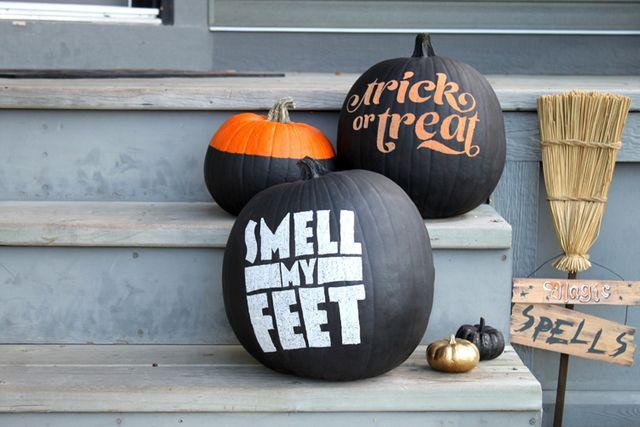 Smashing Pumpkins...for next year ;)