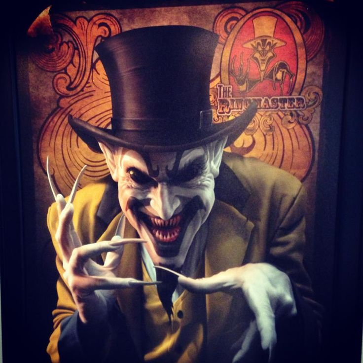 Evil Circus Ringmaster