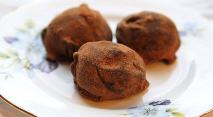 Chocolate-dipped Rum Balls