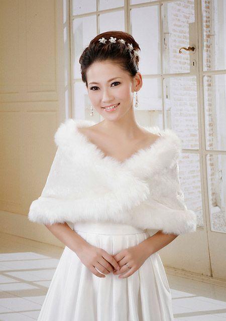 spose autunno inverno | Scialle abito da sposa autunno inverno - Myefox.it