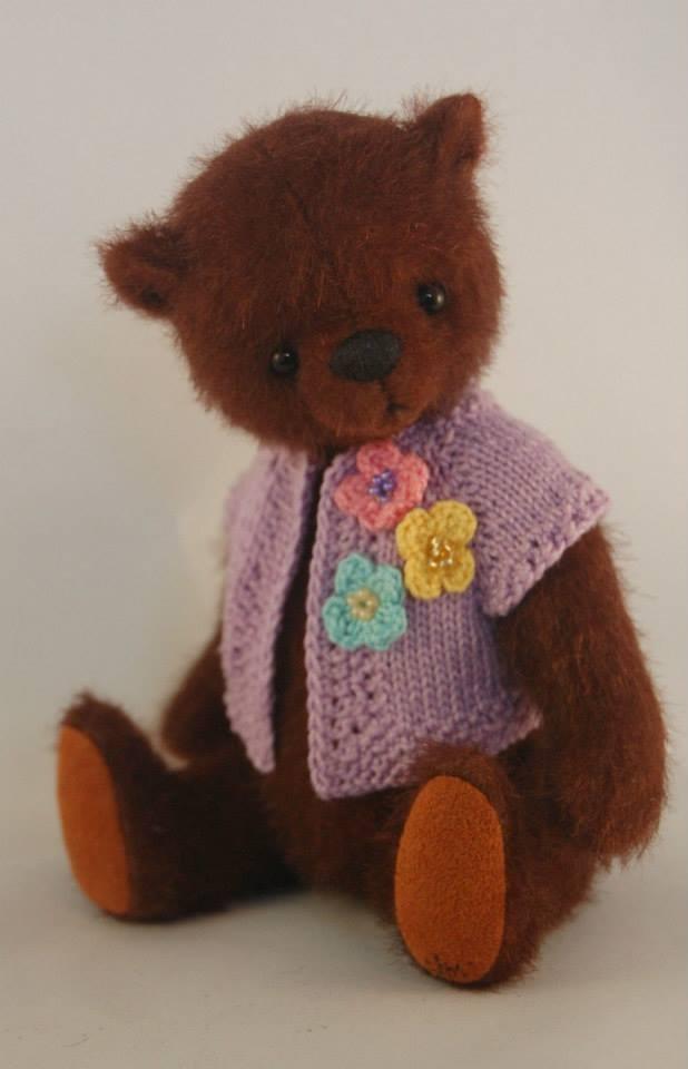 Wonderful bear by judy mathis teddy bears pinterest for Puffer fish stuffed animal