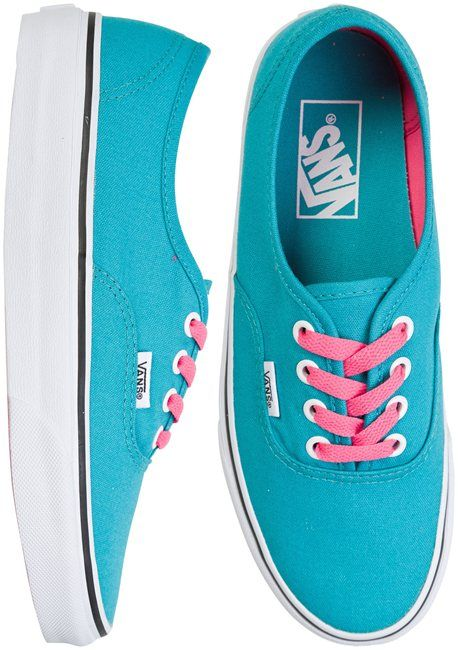 Vans shoes in blue. Just not the laces