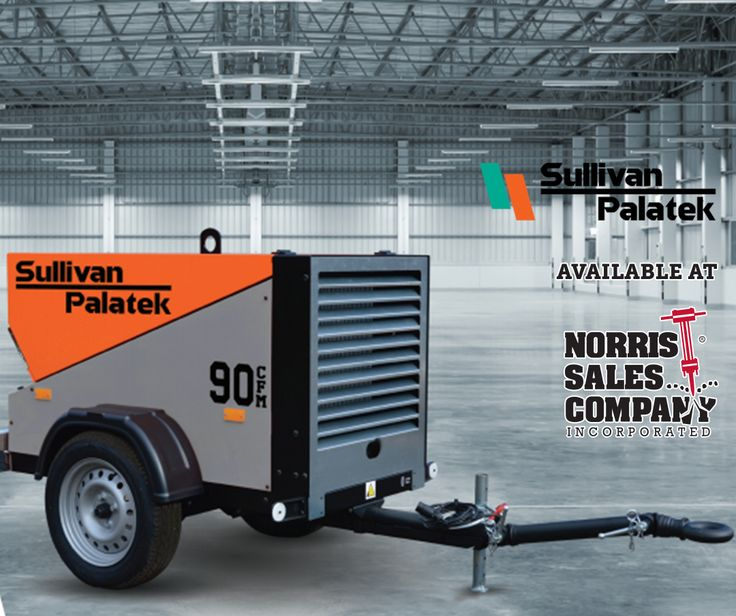 The D90PKU portable compressor from Sullivan-Palatek is the perfect solution for easy-transport, on-site air compression. The D90PKU is lightweight for towing with smaller vehicles and offers convenient access to control and service components. The compact size allows for smaller footprint and lower shipment costs.