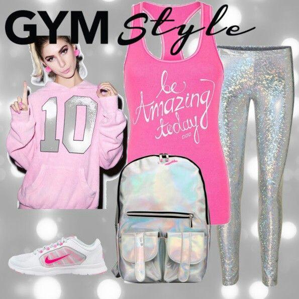 80's gym style -Barbara Sziráki