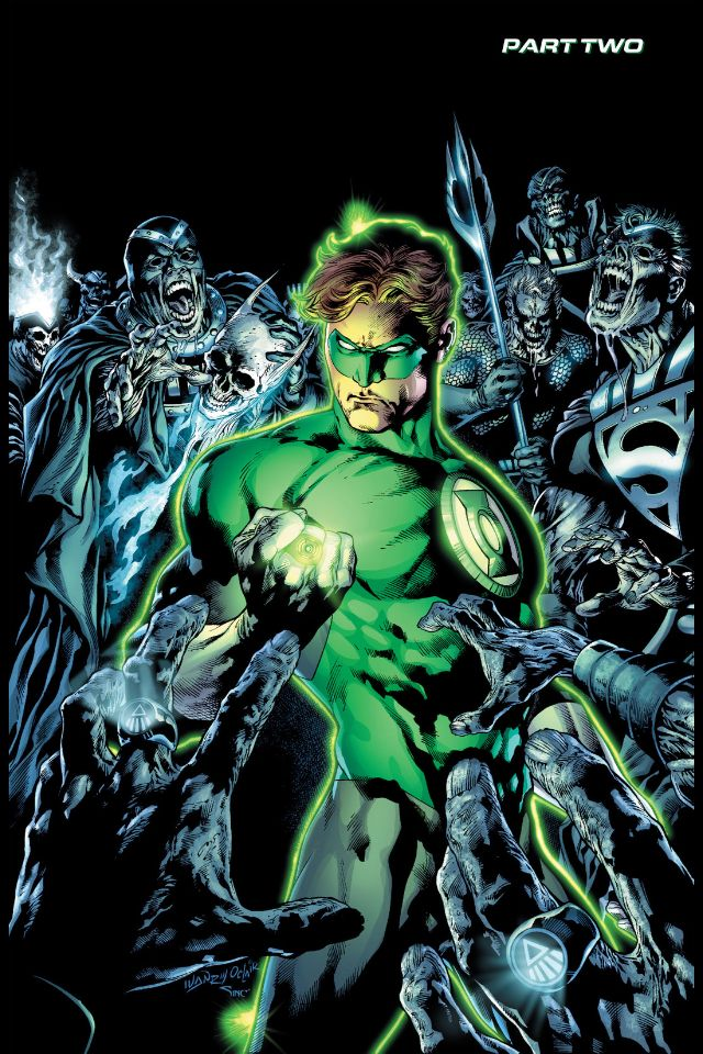 Green Lantern - Blackest Night by Ivan Reis and Oclair Albert