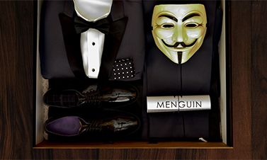 If you are having a hard time finding a place for your guys to rent tuxedos check out Menguin. They have a hugh collection with something for every taste, and make the process very easy. The best part is you can help endangered penguins while planning a stylish wedding!