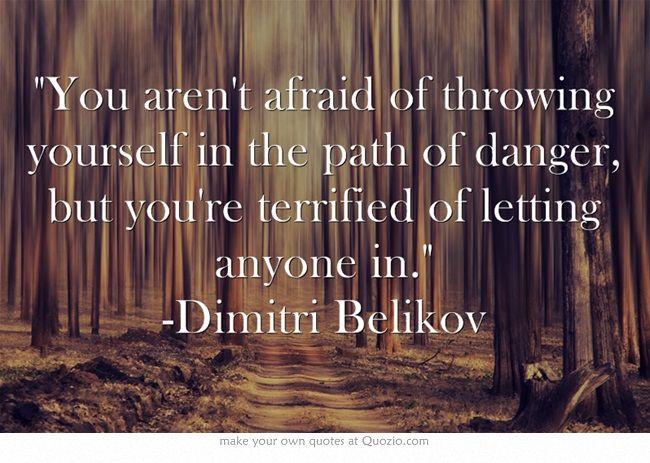 Vampire Academy Quotes | Dimitri Belikov to Rose