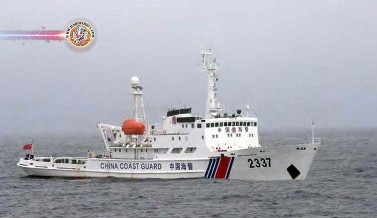 Navios chineses invadem águas territoriais do Japão, novamente. A Guarda Costeira do Japão disse que 4 navios de patrulha chineses entraram em águas territo