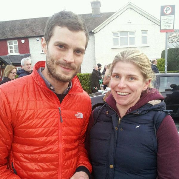 Jamie Dornan's Scruffy Beard Is Back as Fifty Shades Stud Returns Home to Northern Ireland, Visits a Pub and Attends Rugby Game | Veooz 360
