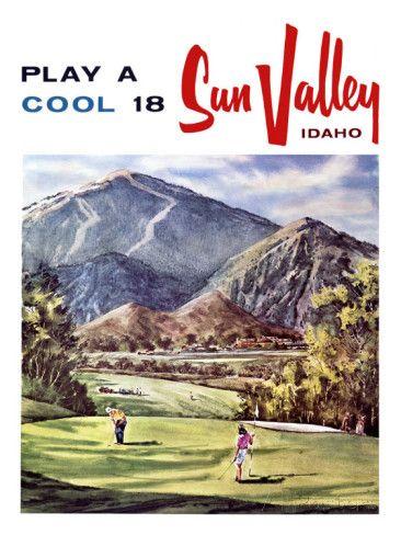 Sun Valley, Idaho Giclee Print at AllPosters.com