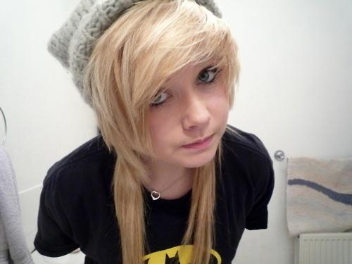 #girl #hair #blonde #beanie