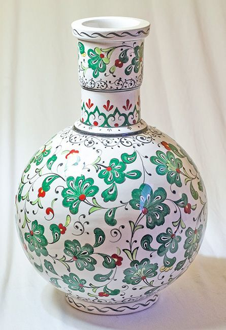 Iznik tile vase, Turkey