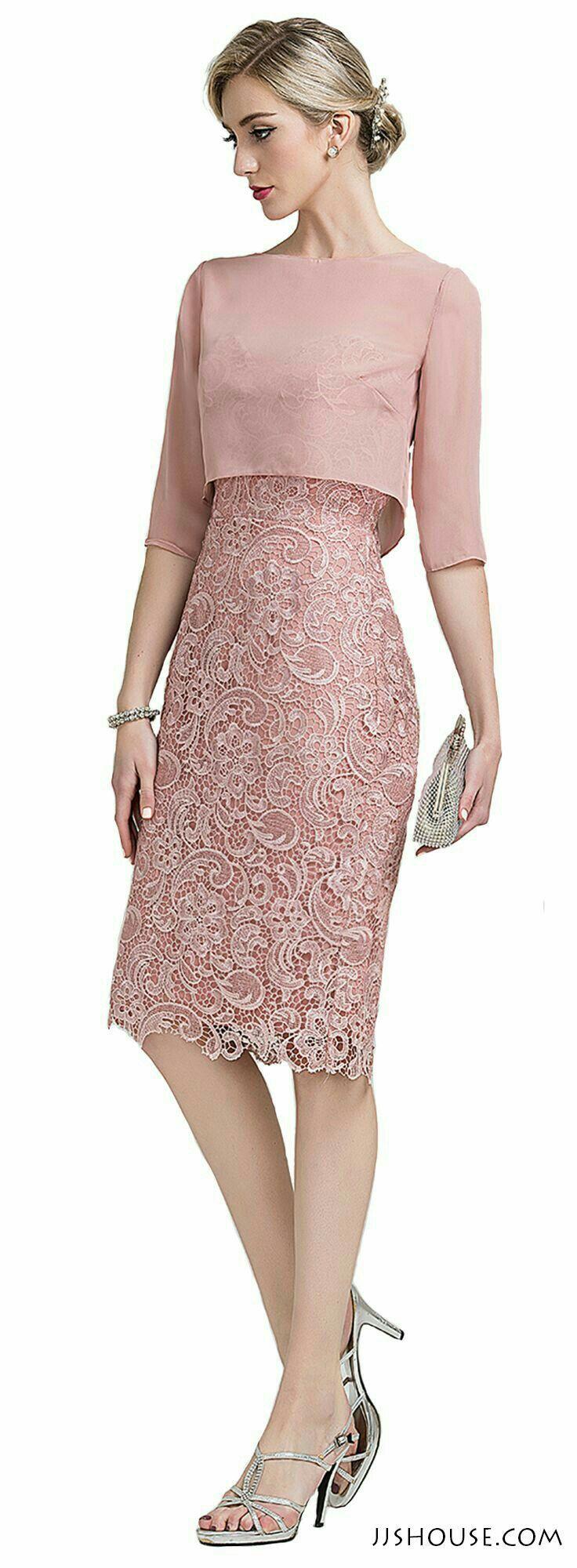 29 best Vestidos images on Pinterest | Low cut dresses, Block dress ...