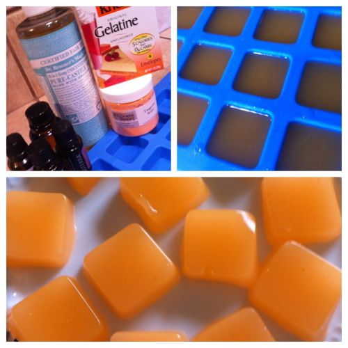 Homemade Shower Jelly, like the ones by Lush Bath Products.