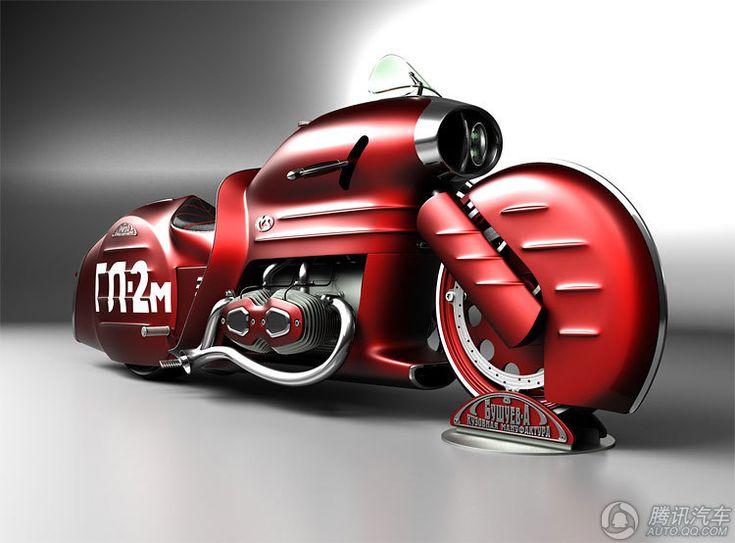ホンダ、鈴木などの世界近未来コンセプトバイク総点検_China.org.cn