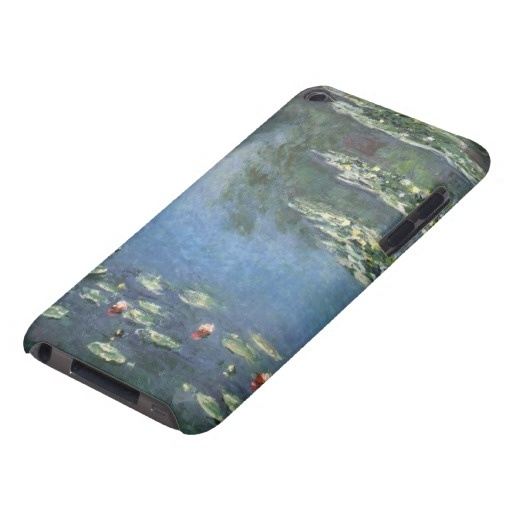 Water Lilies, Monet, Vintage Impressionism Flowers Case-Mate iPod Touch Case €37.25