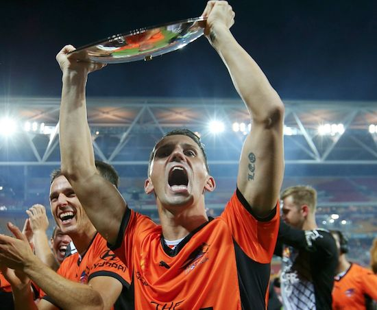 Liam Miller as #ALeague fans will remember him. On top of his game. #RIP 11.02.18