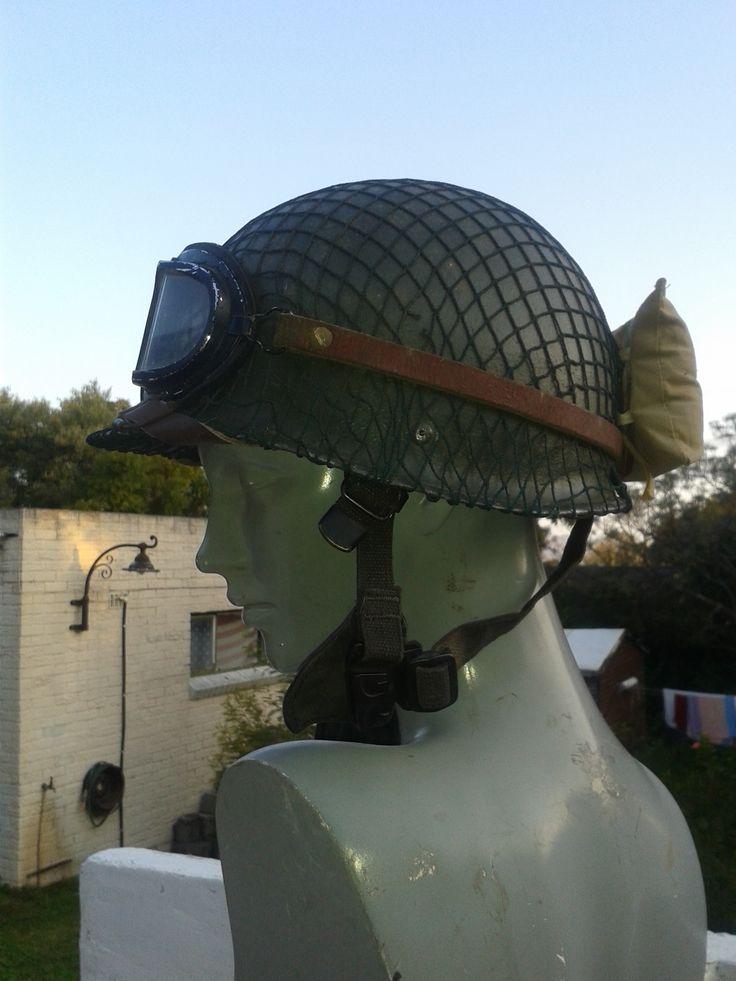 GI helmet i cast, off of an original i moulded it from. (My new crash helmet for my Indian... ha ha....)