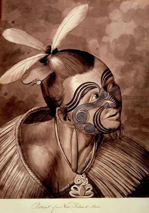 Tattoo History - Images of Maori / New Zealand Tattoos - History of Tattoos and Tattooing Worldwide