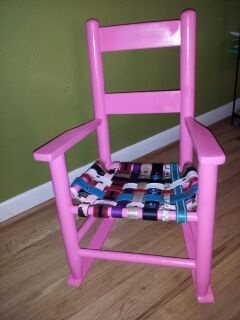 Lily's Pink Chair