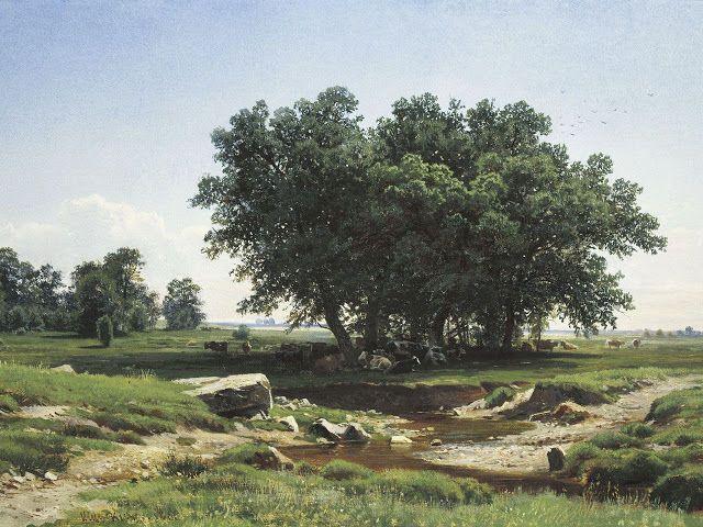 Βελανιδιές. (1886)