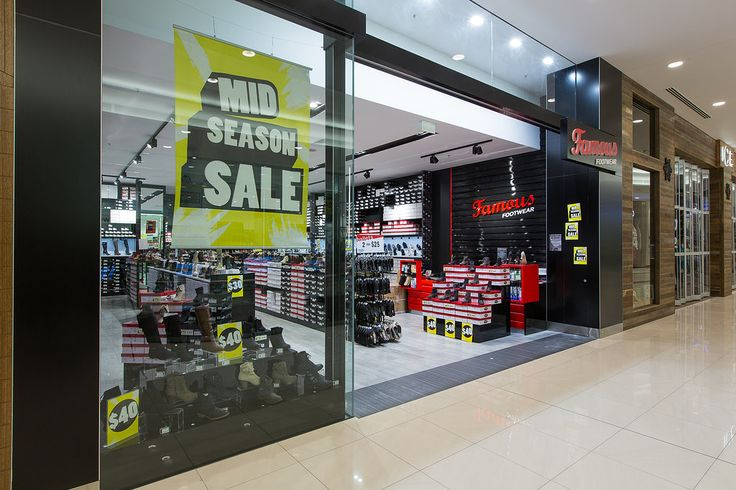 Complete retail fitout for Famous Footwear stores across Australia. Famous Footwear stock a vast range of shoes in all styles and sizes offering women's shoes at Australia's best prices.