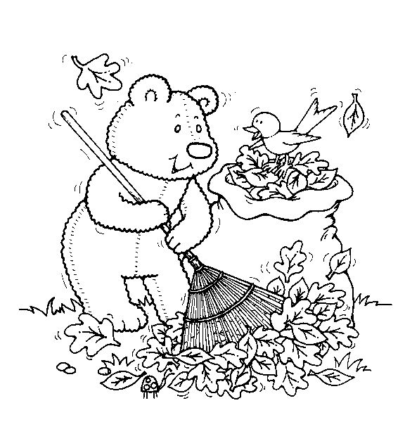 "thanksgiving teddy bear coloring pages | 19 best iColor ""Little Kids Autumn"" images on Pinterest ..."