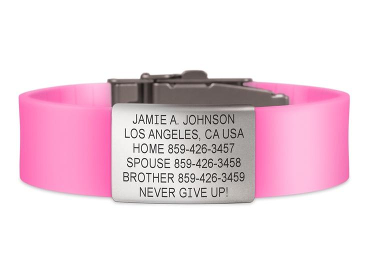 Wrist ID Elite - Pink