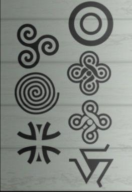 Teen wolf símbolos                                                                                                                                                                                 Más