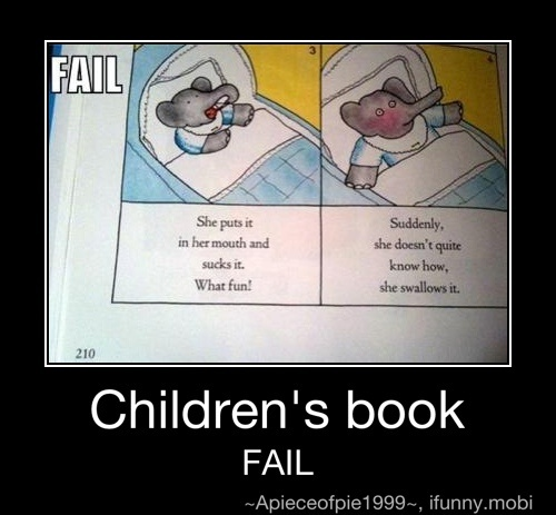Children's book fail | Laughter is the best medicine ...