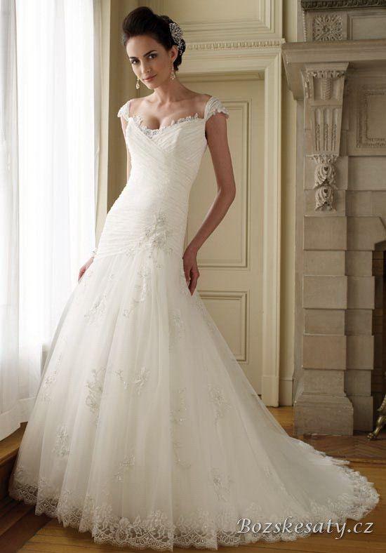 Krajkové svatební šaty BS_SS_0014