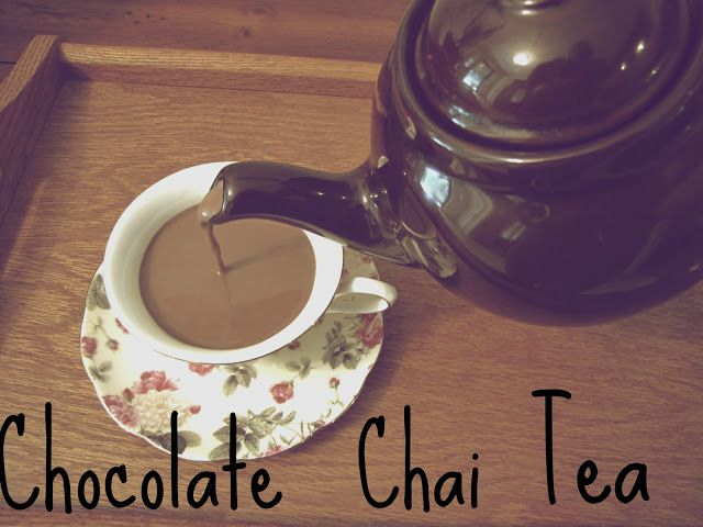 Lexalex: Chocolate Chai Tea Recipe