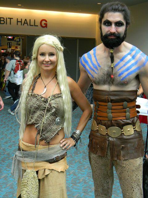 "Khal Drogo & Daener ""Khaleesi"" Targaryen costumes"