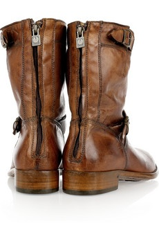 Women's BELSTAFF  Barkmaster leather ankle boots