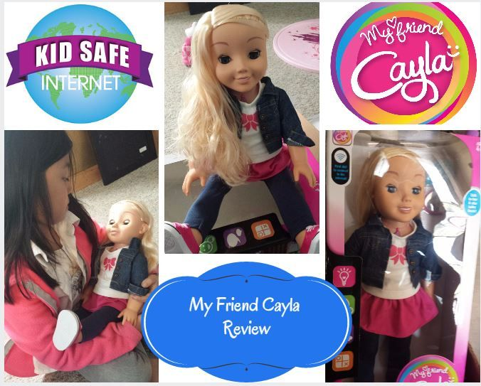 My Friend Cayla Doll Review, Great Interactive Doll! #Reviews #Gifts #Dolls