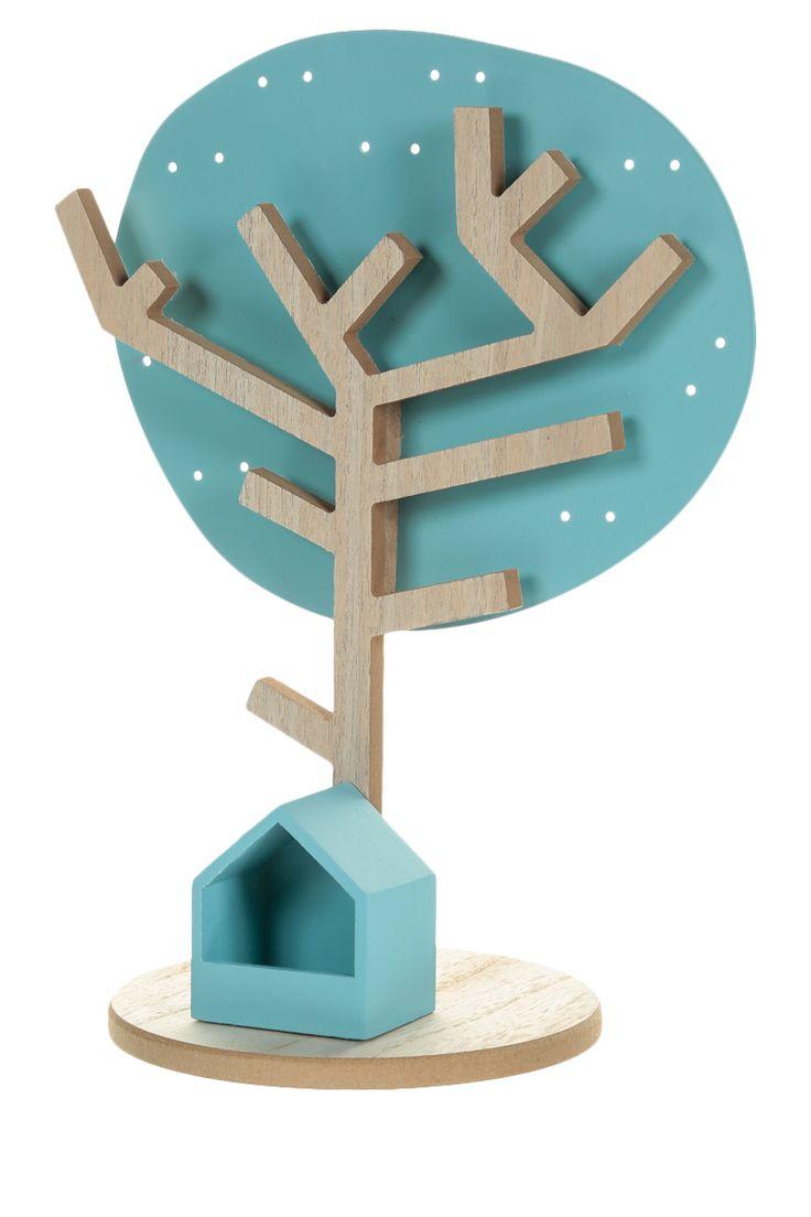 porte bijoux arbre hauteur 30 cm en bois et m tal cr er bois pinterest d co bijoux et. Black Bedroom Furniture Sets. Home Design Ideas