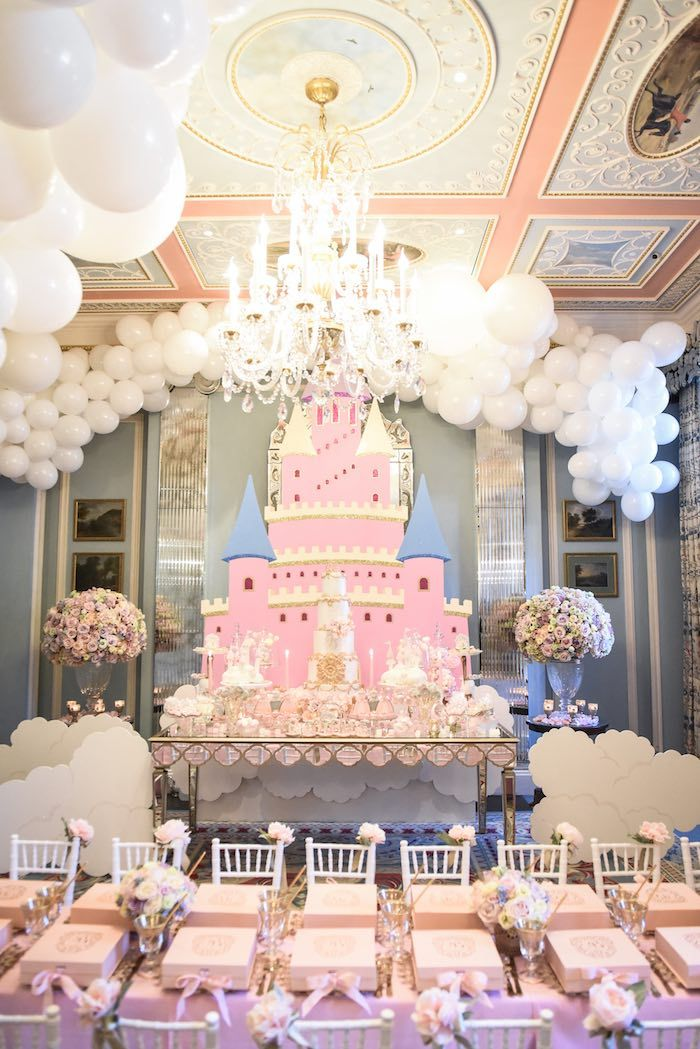 Castle In The Clouds Birthday Party On Karas Party Ideas