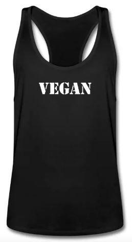 Vegan MEN TANK TOP #vegan #veganquotes #workout #vegangains