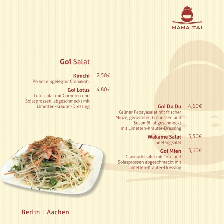 Mama Tai Pontstrasse Aachen Sushi Vietnamesische