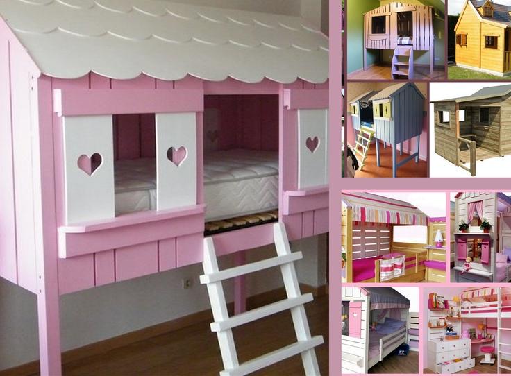 1000 images about cabane on pinterest cabin beautiful - Chambre cabane enfant ...