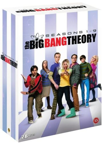 The Big Bang Theory - Säsong 1-9 (28 disc) (DVD)
