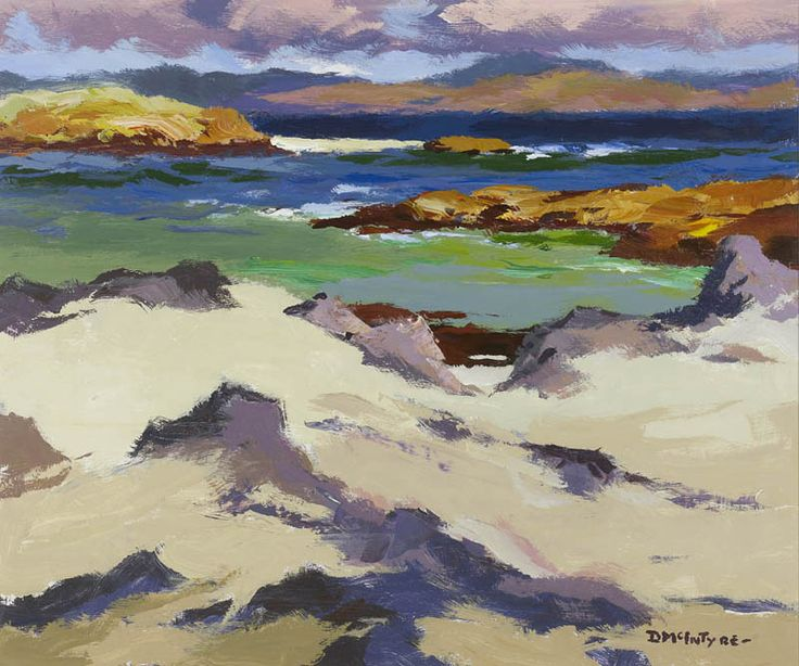 Donald McIntyre  Iona North End No 12  Art  Painting