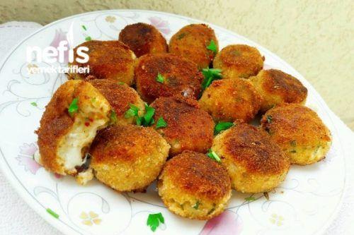Kahvaltılık Kaşar Dolgulu Bayat Ekmek Topları Tarifi