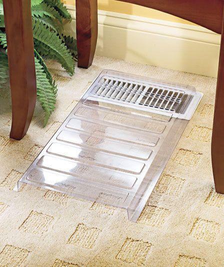 AC Vent Extender Better Circulation Directs Heat Extend Air Deflector Home Decor