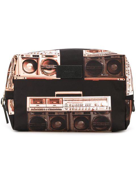 PAUL SMITH 'Boom Box' print wash bag. #paulsmith #bag