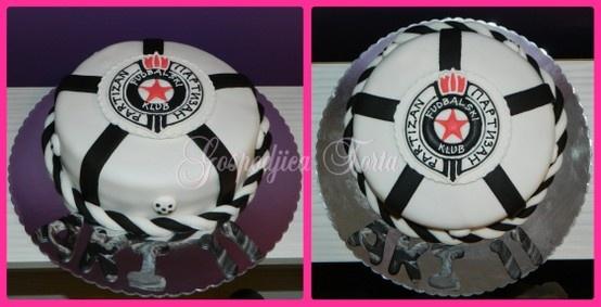 FK Partizan Cake