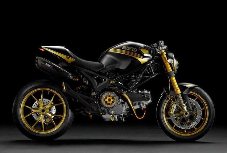 Ducati Monster 698 EVO black & gold